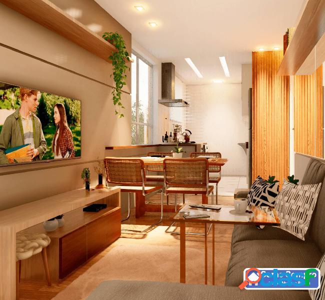 Apartamento dois quartos no milionários entrada parcelada