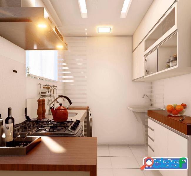 Apartamento dois quartos no milionários entrada parcelada 1