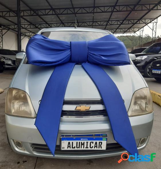 Chevrolet meriva maxx 1.4 mpfi 8v econoflex 5p prata 2010 1.4 flex