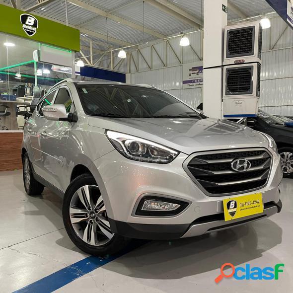 Hyundai ix35 gls 2.0 16v 2wd flex aut. prata 2017 2.0 flex