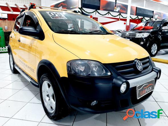 Volkswagen crossfox 1.6 mi total flex 8v 5p amarelo 2009 1.6 flex