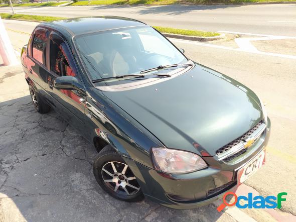 Chevrolet classic lifels 1.0 vhc flexp. 4p verde 2013 1.0 flex