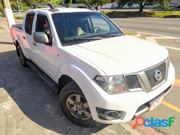 Nissan frontier sv attack cd 4x2 2.5 tb diesel branco 2015 2.5 diesel