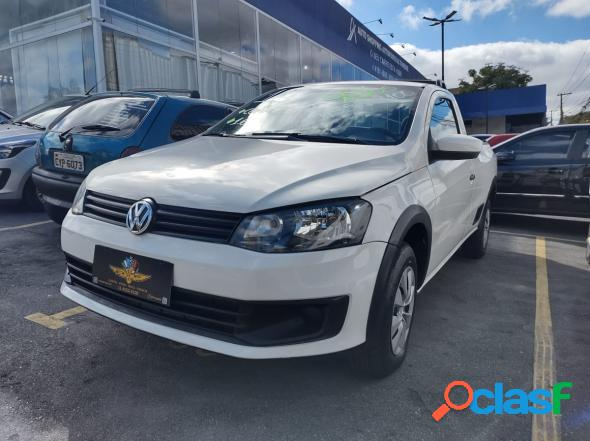 Volkswagen saveiro 1.6 mi 1.6 mi total flex 8v branco 2015 1.6 flex