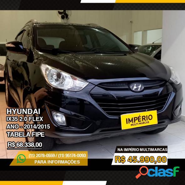 Hyundai ix35 gls 2.0 16v 2wd flex aut. preto 2015 2.0 flex