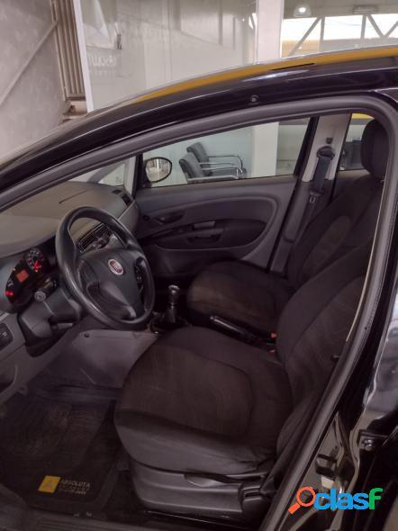 Fiat punto attractive 1.4 fire flex 8v 5p preto 2012 1.4 flex