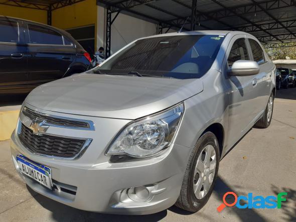 Chevrolet cobalt lt 1.4 8v flexpowereconoflex 4p prata 2014 1.4 flex