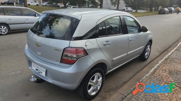 Chevrolet agile ltz 1.4 mpfi 8v flexpower 5p cinza 2011 1.4 flex