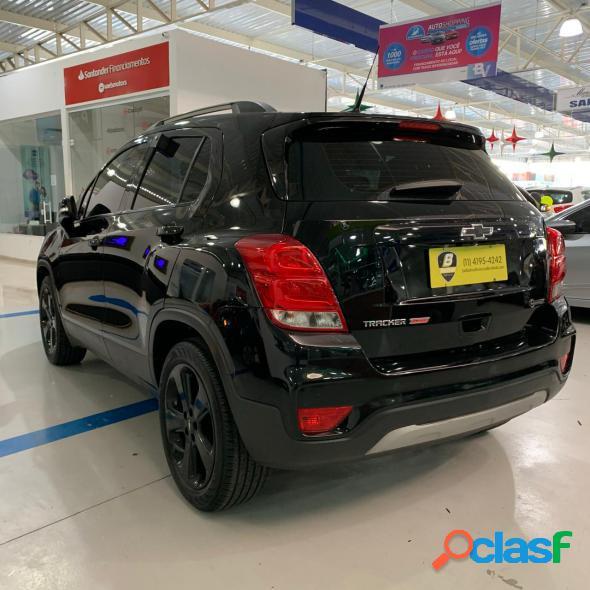 Chevrolet tracker premier 1.4 turbo 16v flex aut preto 2019 1.4 flex