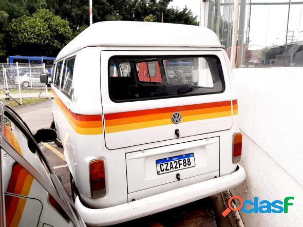 Volkswagen kombi standard luxo serie prata branco 2000 1.6 gasolina
