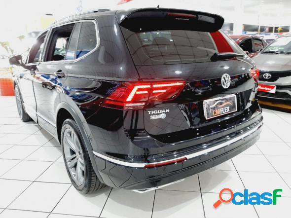 Volkswagen tiguan allspac r-line 350 tsi 2.0 4x4 preto 2019 2.0 gasolina
