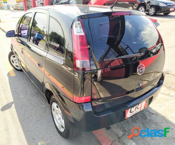 Chevrolet meriva 1.8 cd 1.8 mpfi flexpower 8v preto 2004 1.8 flex