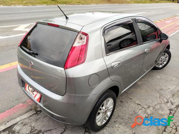 Fiat punto attractive 1.4 fire flex 8v 5p cinza 2012 1.4 flex