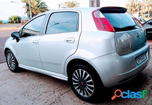Fiat punto sporting 1.8 flex 8v16v 5p prata 2008 1.8 flex