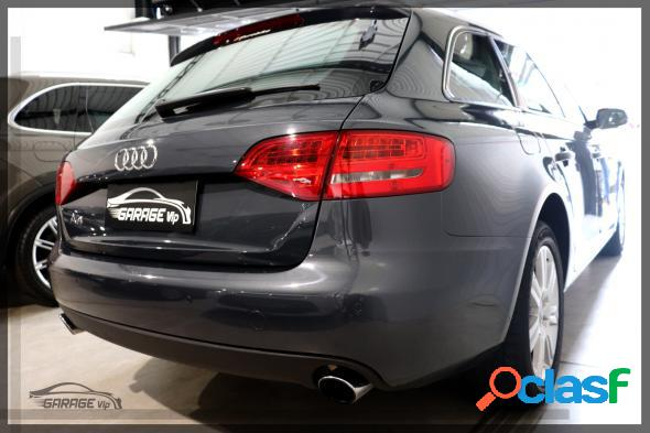 Audi a4 2.0 avant tfsi 183180cv multitroni cinza 2011 2.0 gasolina
