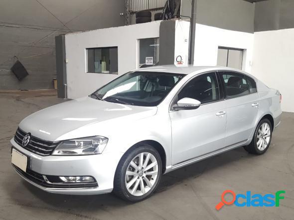 Volkswagen passat tb 2.0 fsitsi 211cv tiptronic 4p prata 2013 2.0 gasolina