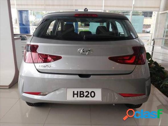 Hyundai hb20 sense 1.0 flex 12v mec. prata 2021 1.0 flex