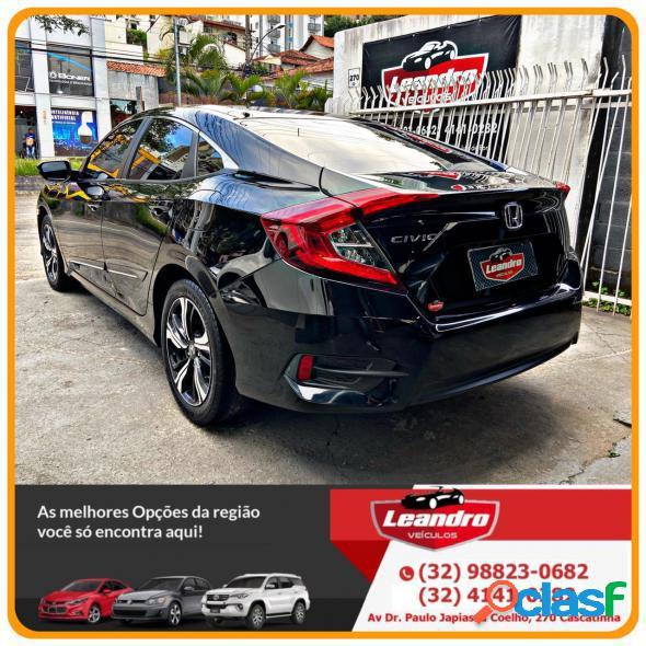 Honda civic sedan exl 2.0 flex 16v aut.4p preto 2017 2.0 flex