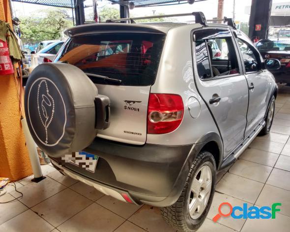 Volkswagen crossfox 1.6 mi total flex 8v 5p prata 2009 1.6 flex