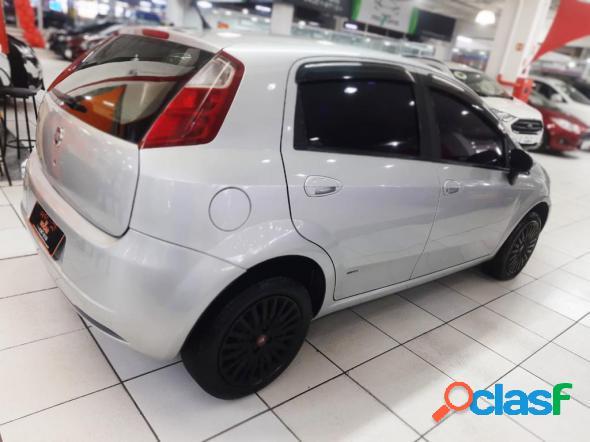 Fiat punto attractive 1.4 fire flex 8v 5p prata 2011 1.4 flex