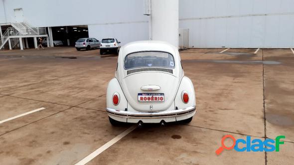 Volkswagen fusca bege 1978 1300 gasolina