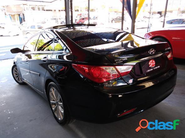 Hyundai sonata 2.4 16v 182cv 4p aut. preto 2011 2.4 gasolina