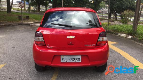 Chevrolet agile ltz 1.4 mpfi 8v flexpower 5p vermelho 2013 1.4 flex