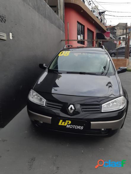 Renault megane grand tour dynamique 2.0 16v aut. preto 2007 2.0 gasolina