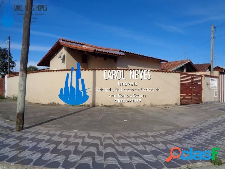 Casa em mongaguá a 350 metros da praia - somente a vista