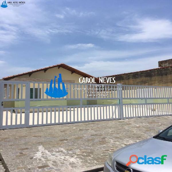 Casas novas 2 dormitórios em condomínio itanhaém