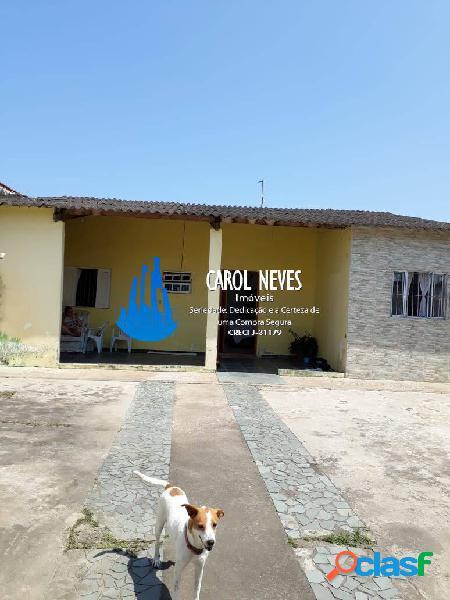 Lote inteiro 3 dormitórios lado pista financiamento bancário itanhaém