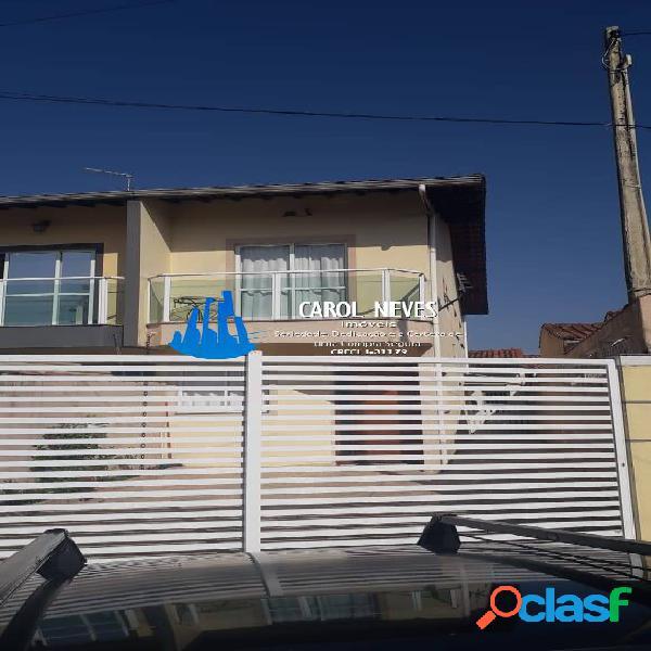 Sobrado 3 dormitorios lado praia financiamento bancário mongaguá