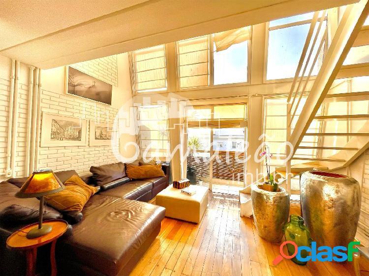 Jardim américa - loft 2 dorm. suíte - 2 vagas - depósito - varanda - 125 m²