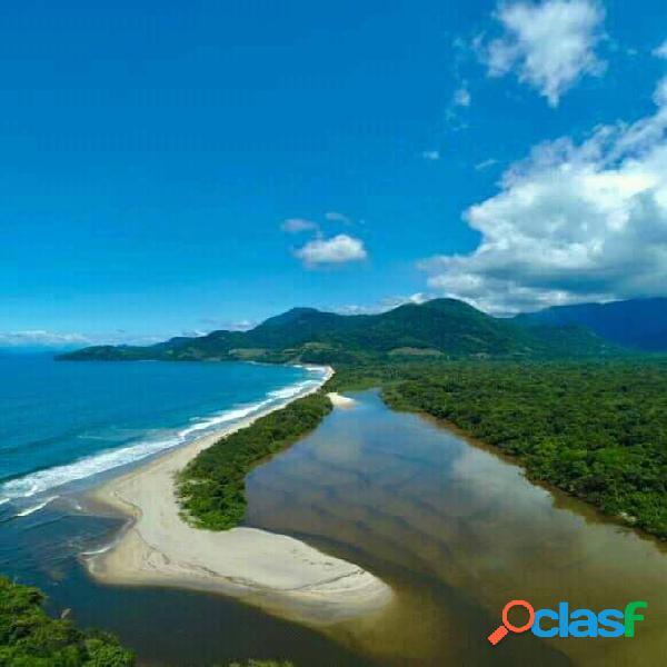 Praia do puruba - ubatuba - litoral norte de são paulo