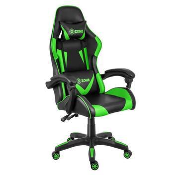 Cadeira gamer reclinável premium x-zone cgr-01 preta e