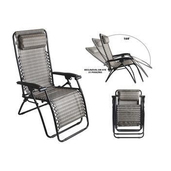 Cadeira sevilha reclinável 21 posições - mor 2434 -