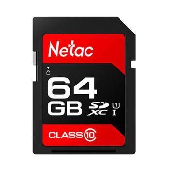 Cartão memória 64gb sdhc 100mb/s netac - armazenamento -