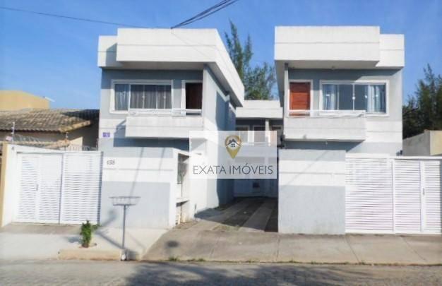 Casa duplex 02 suítes no bairro residencial rio das ostras/