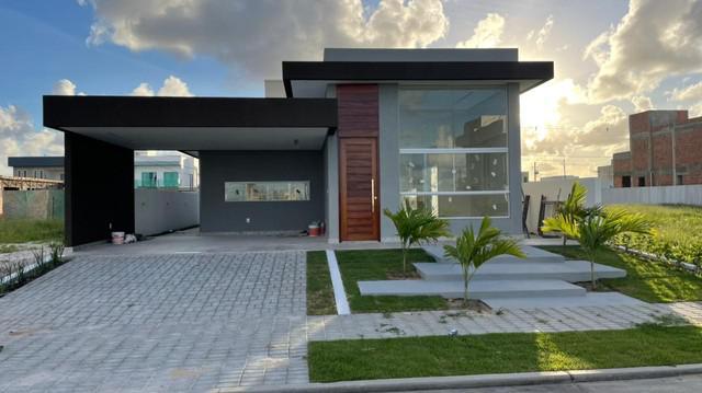 Casa no terras alphaville 1 frente leste ~