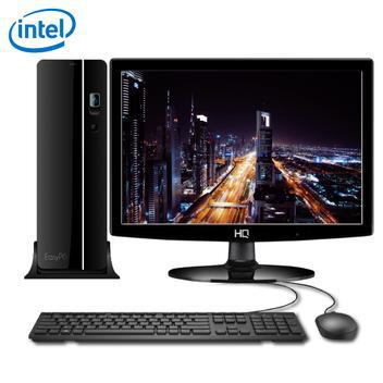 Computador compacto com monitor led intel intel dual core