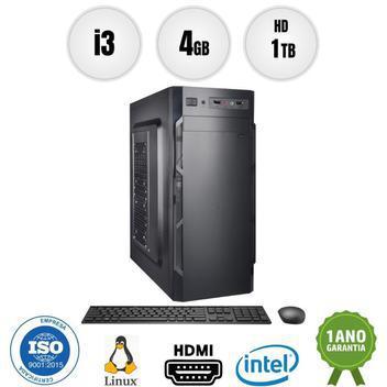 Computador pc cpu intel core i3 4gb 1tb kit bestpc - cpu -