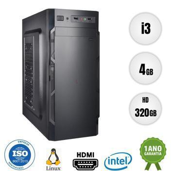 Computador pc cpu intel core i3 4gb 320gb bestpc - cpu -