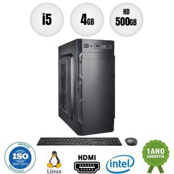 Computador pc cpu intel core i5 4gb 500gb kit bestpc - cpu -