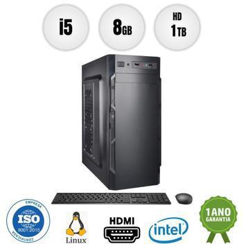 Computador pc cpu intel core i5 8gb 1tb kit bestpc - cpu -