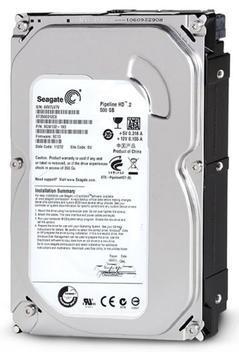 Hd 500 gb sata 3gb/s - 5900rpm - 8mb cache - seagate
