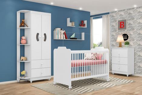 Jogo de quarto de bebê 3 peças ternura - peternella -