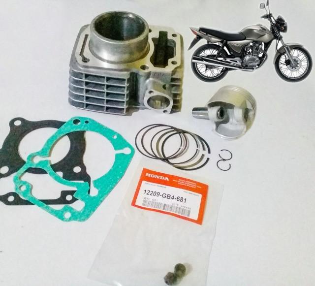 Kit cilindro motor cg titan 150 2002 até 2008