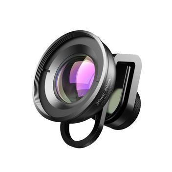 Lente macro 30mm-80mm para celular - apexel - lente de vidro
