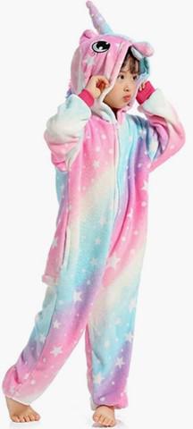 Pijama unicórnio infantil - pronta entrega