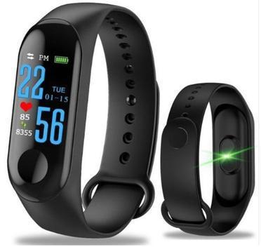 Relógio smart - m3 - pulseira inteligente - smartband -
